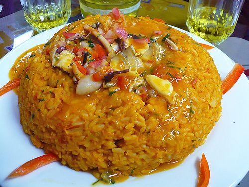 Un delicioso platillo, el arroz imperial