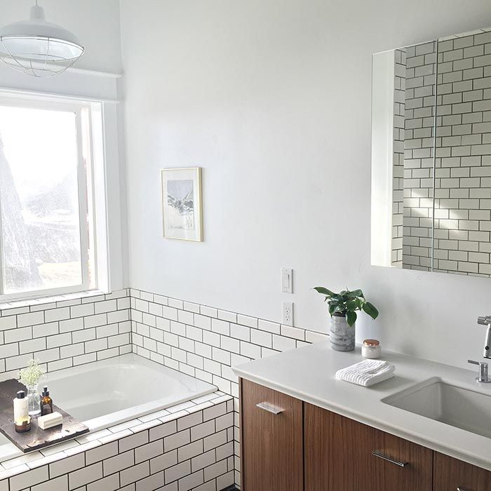 Before & After: A Modern Bathroom for a 1905 Farmhouse | Design*Sponge