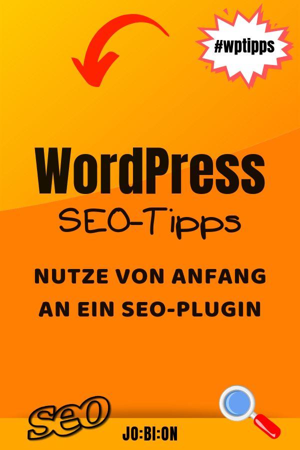 Nutze Ein Seo Plugin Das Wordpress Seo Besonders Fur Anfanger Einfacher Macht Aber Denk Dran Diese Wordpress Plugins Unterstutzen Seo Tips Wordpress Seo Seo