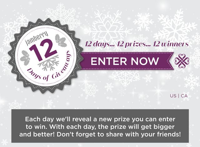 12 Days of Christmas - Jamberry Style. Enter DAILY to win Dec. 4-15, 2015