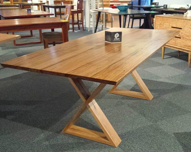 On display in the Sydney Showroom, right next to Green Square. We are open there this weekend so come say hello! #furniture #design #handcrafted #diningtable #timberfurniture #bespoke #interiordesign #decor #furnituredesign #reuse #repurpose #recycle #salvaged #solidtimber #sydney #woodworking #australianmade #eclipsefurniture
