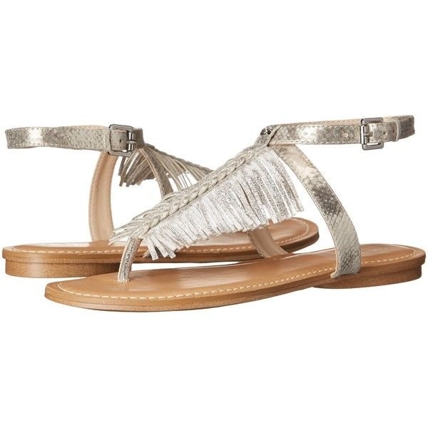 Womens Sandals GUESS Guavva Silver