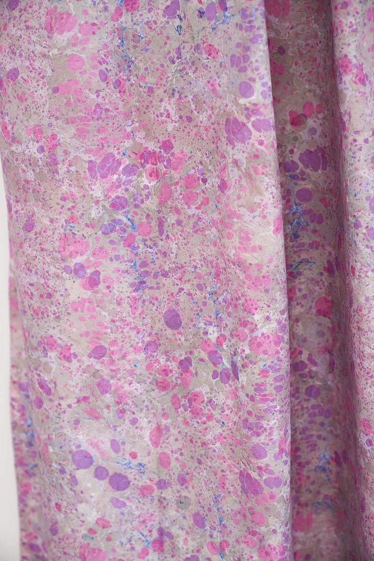 Lustro Magenta fabric
