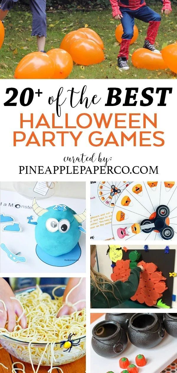 21 Halloween Party Games For Kids Of All Ages Fun Halloween Party Games Halloween Toddler Party Halloween Party Activities
