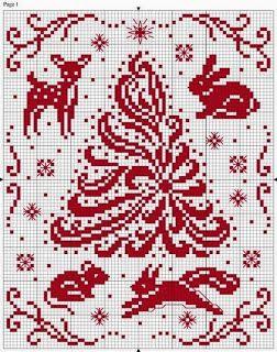 Cross Stitch / Cross stitch: Christmas theme