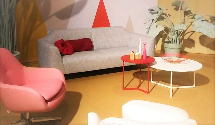 Voorbeeld van een mooi interieur, vooral de kleuren vind ik heel mooi - VT-wonenbeurs