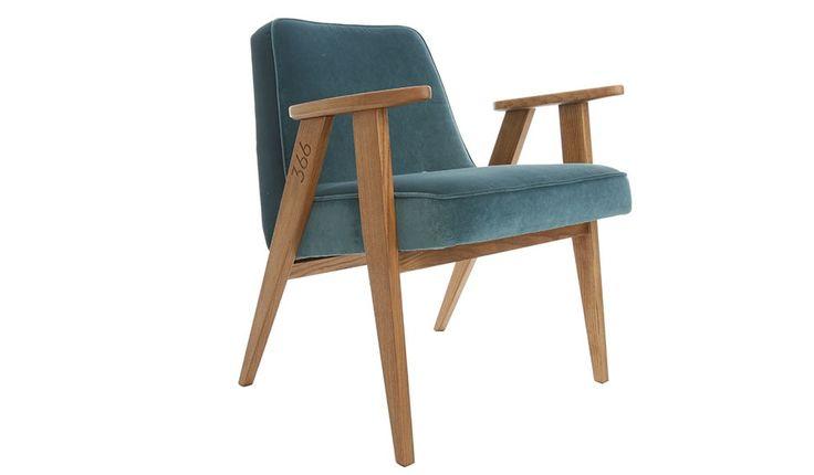 Velvet Armchair - Blue by 366 Concept | MONOQI #bestofdesign | Origin Poland | Material Frame: Ash Wood, Beech Wood. Upholstery: Polyester.