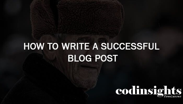 How to Write a Successful Blog Post You want to be a blogger!!! … so I tell you that you are going to a right way to present your ideas and creations through this successful blog post on a website. I will teach you, 'How to write a successful blog post?'.  At the beginning of a blogging busi…