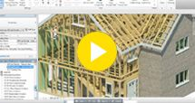 Horizon timber frame for Revit