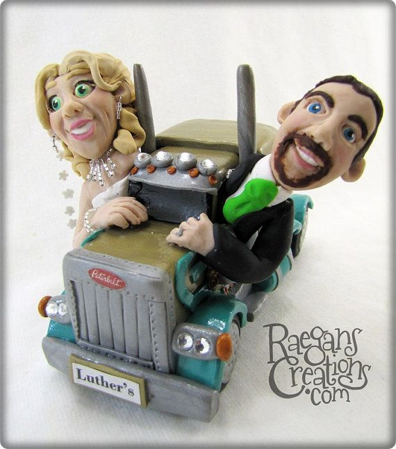 wedding cake topper with truck 1000 images about trucker themed wedding on 26664