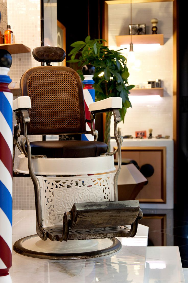 Barber Shop Concept Chair for Durstone Cevisama 2013. Interior Design by VXLAB.