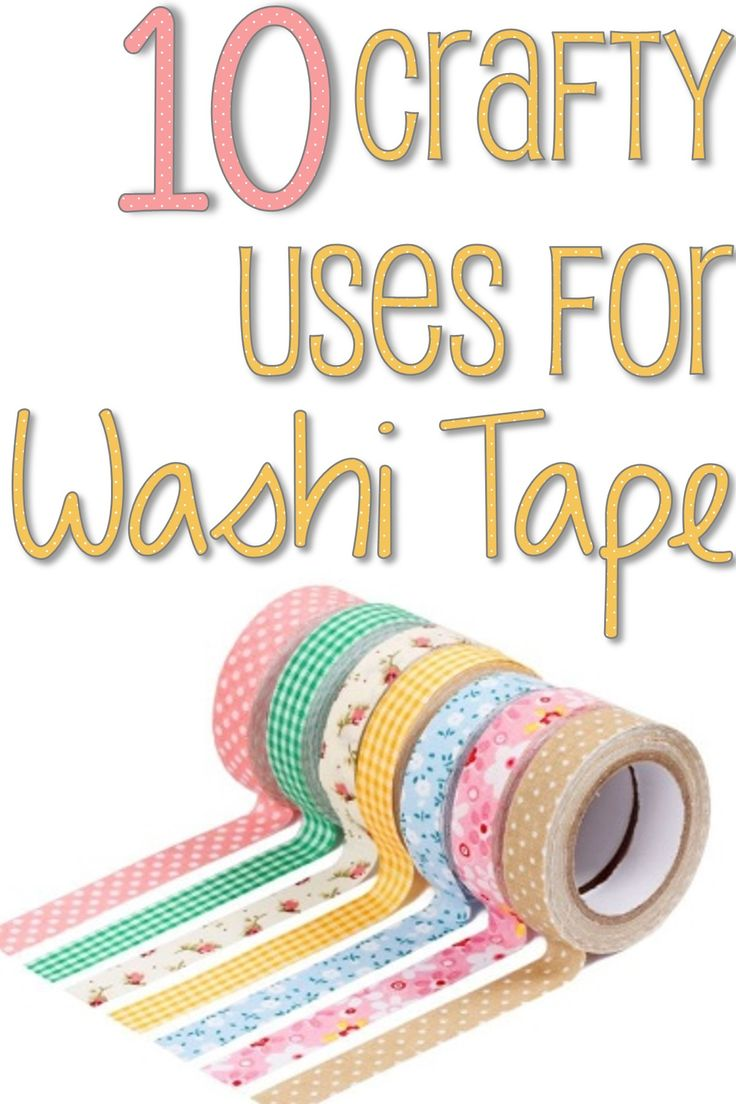 10 Crafty Uses for Washi Tape