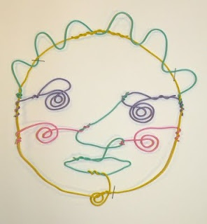 twisteez wire portraits- Gr.5 : nice for Calder