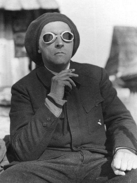Stanislaw Ignacy Witkiewicz, self-portrait in the Tatras, 1930