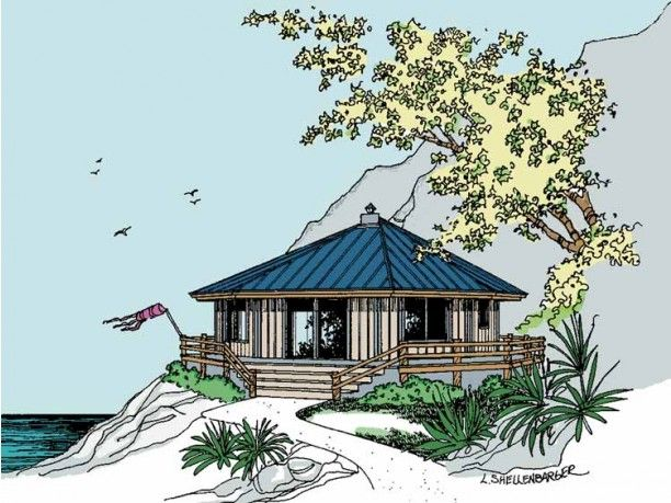 17 best images about octagon cabins on pinterest manzanita cabin and yurts - Cool cottage plans ...