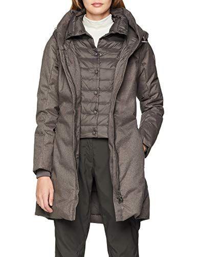 achten Sie auf angenehmes Gefühl tolle sorten CMP Damen Mantel Jacke Tortora Melange 44 | Jacken & Mäntel ...