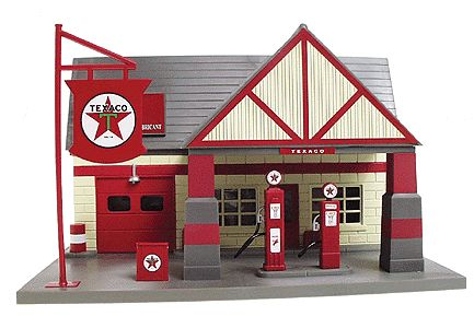 K-line 1:32 scale Gas Station