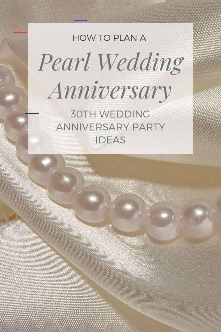 30th Wedding Anniversary Ideas Br In 2020 Anniversary Party Decorations 30th Anniversary Parties Wedding Anniversary Decorations