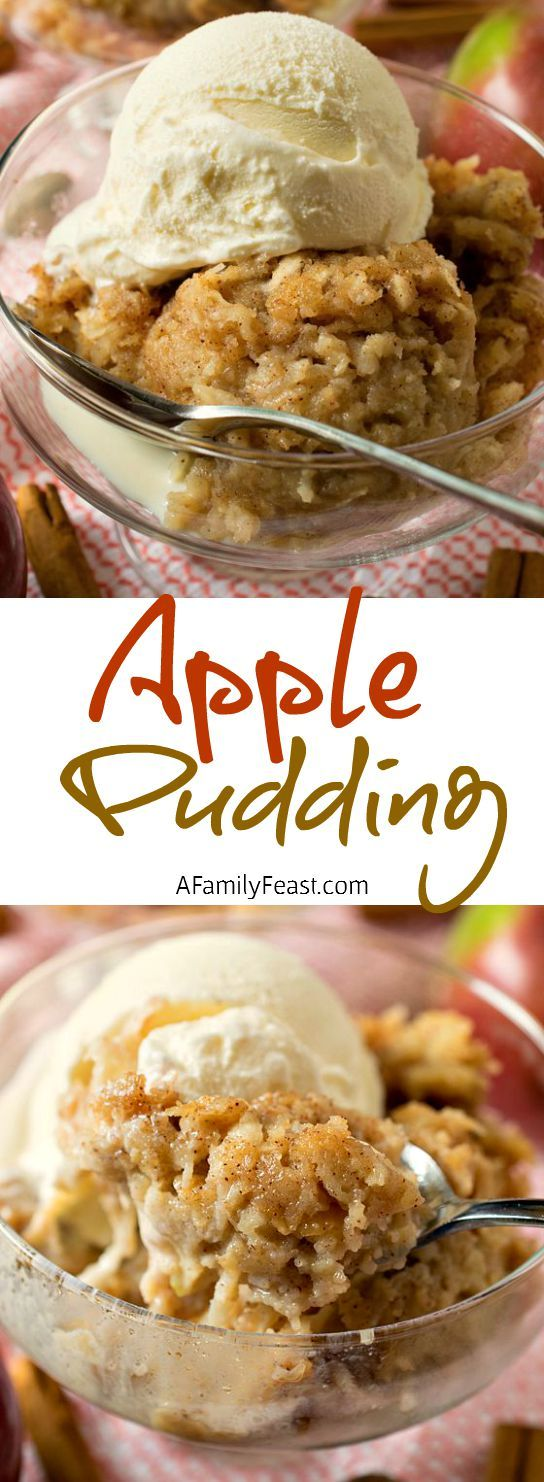 Jack's Apple Pudding - Resembling bread pudding, this easy apple pudding is sweet and spicy and incredibly delicious!