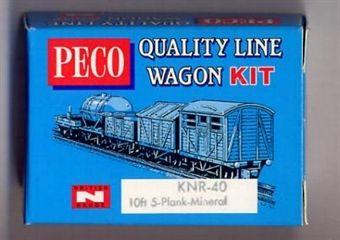 KNR-40 5 Plank Mineral Wagon Kit £3.50