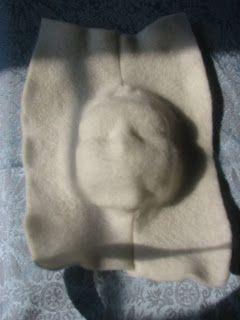 Ловкий Mandaline гостиная: Как сделать прессованного войлока куклы лицо