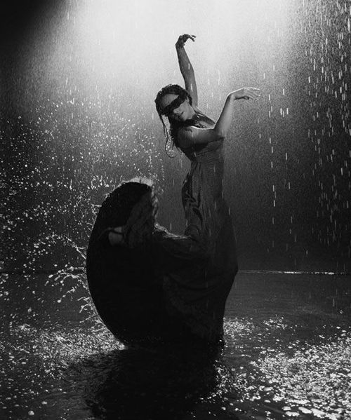 Rain Dance. YES. once it warms up. this will happen.