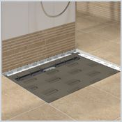 wood flooring in the bathroom 19 best images about drains schluter on 24713