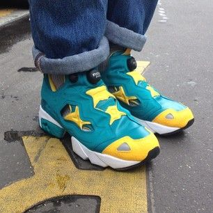 Shoes Up – To your city and Beyond   Daily Shoes : Reebok Pump Fury