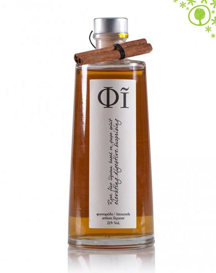 Fatourada : the traditional liqueur of Kythira with the seductive scent of cinnamon and citrus fruit! Enjoy it as an aperitif or digestif, to accompany Christmas sweets. http://www.yolenis.com/4581/fatoyrada_fi_artisan_liquer_500ml