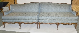 Antique Victorian Claw-foot Double Couch - Rare Design - comes from 1 owner Funeral Home for sale! #funeral
