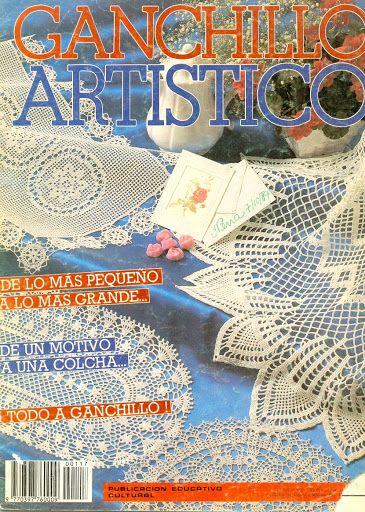 Ganchillio Artistico ano 1986 - Mara Godoy - Álbumes web de Picasa