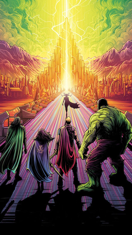 Thor: Ragnarok (2017) Phone Wallpaper | Moviemania