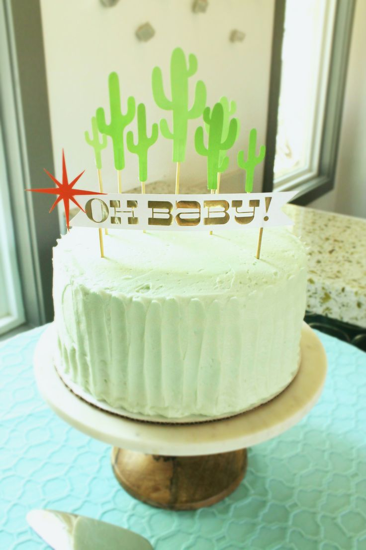 top 25 best baby cake topper ideas on pinterest baby shower susie cakes cake with cactus cake toppers and modern oh baby cake topper lovelyfest event