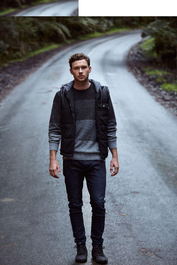 ELWOOD CLOTHING - Storm Puffer Vest Black