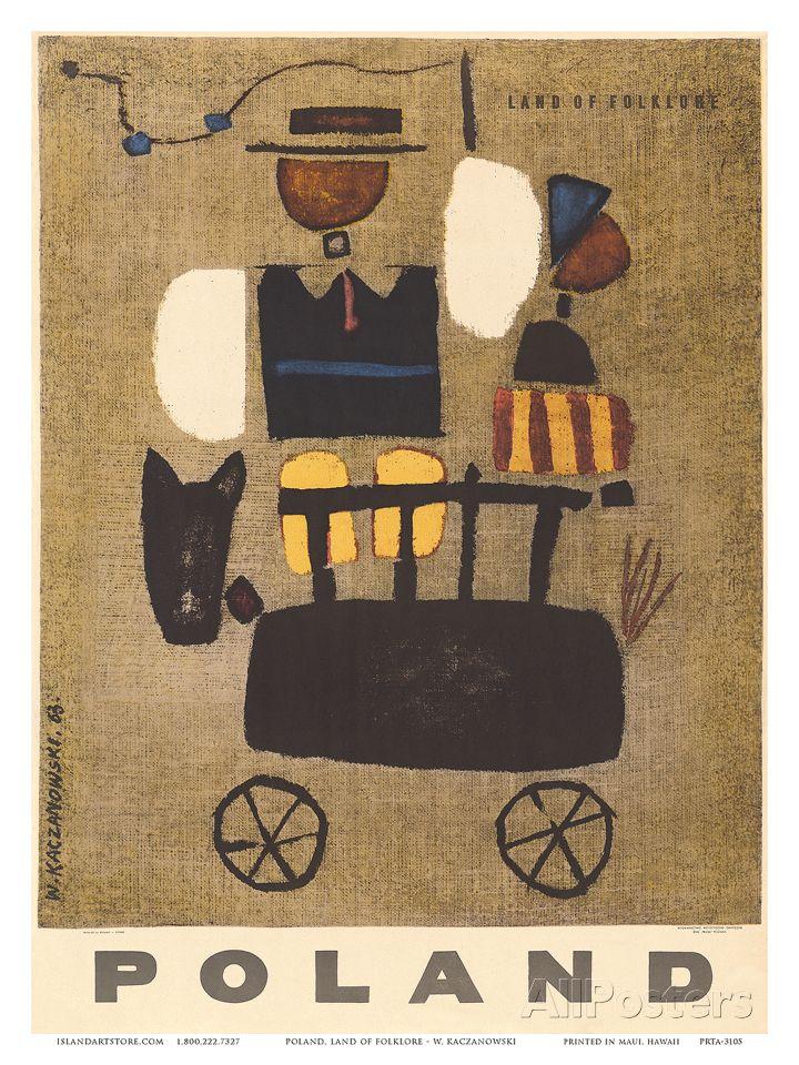 Poland: Land of Folklore, c.1963 Art Print at AllPosters.com