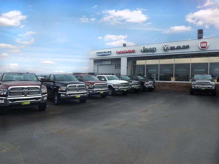 Here's a look at the I-5 Chrysler Jeep Dodge Ram Fiat dealership! Lots of heavy duty trucks here to choose from... and we also couldn't help but nothice the two cars sticking out of the roof! (We think those ones aren't for sale)  Come check out I-5 Chrysler Jeep Dodge Ram Fiat at 1560 NW State Ave, Chehalis, WA 98532  #ad #i5cars #auto #trucks #cars #fiat #dodge #ram #chrysler #jeep #ram #wa #mymixx96