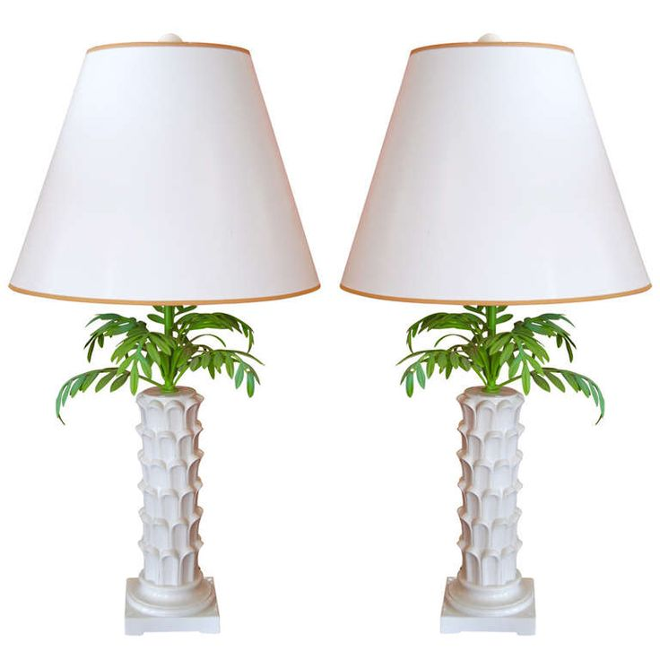 Italian Palm Tree lamps