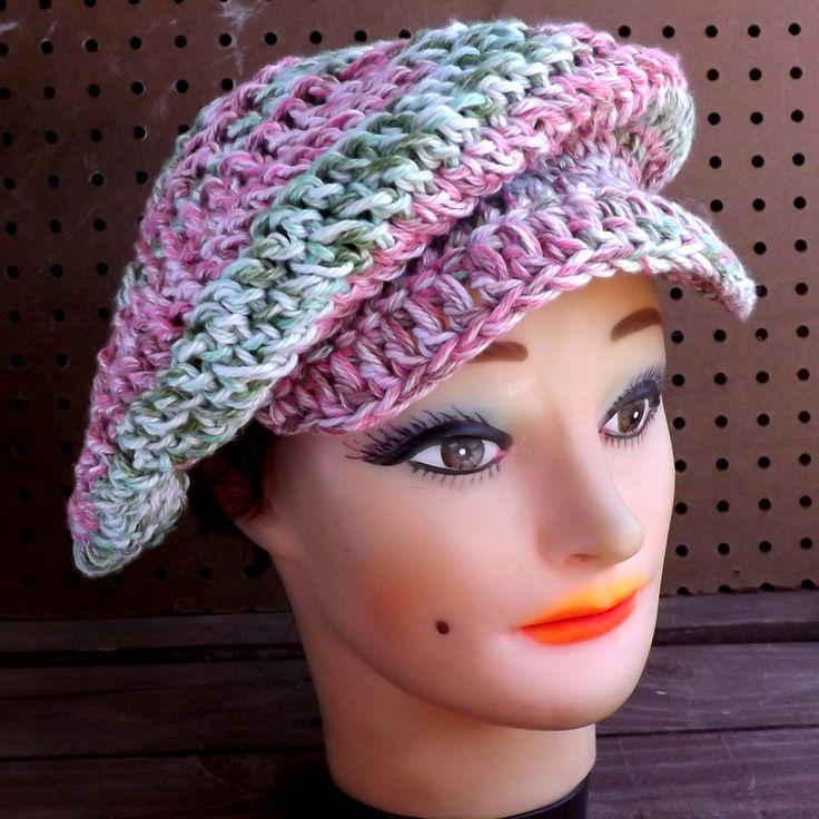 Knit Newsboy Hat Pattern Free Vector