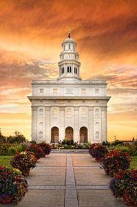 Nauvoo Temple - Sunrise