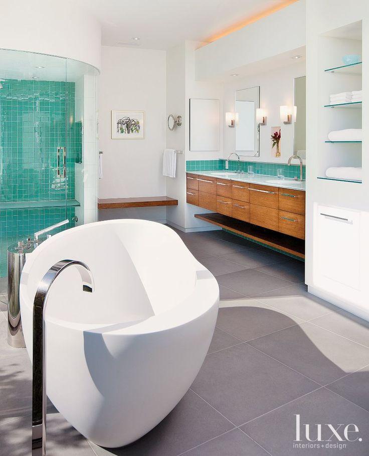30 best images about white bathrooms on pinterest editor serene bathroom and tile design - Cool spa like bathroom designs ...