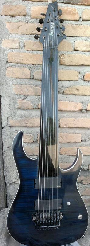 Fretless 8 string ibanez!