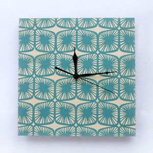 Clock. 'Pod' Available at www.courtneyclaire.bigcartel.com