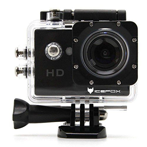 Cheap icefox FHD Underwater Action Camera 12MP 1080P Waterproof HD Camera with 170 Ultra Wide-Angle1.5 Inch Display 900mAh Battery and Accessories Kit for Diving Bicycle Motorbike Swimming (Black) Best Selling