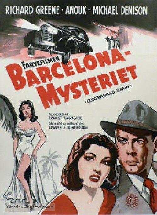 Contraband Spain Danish movie poster