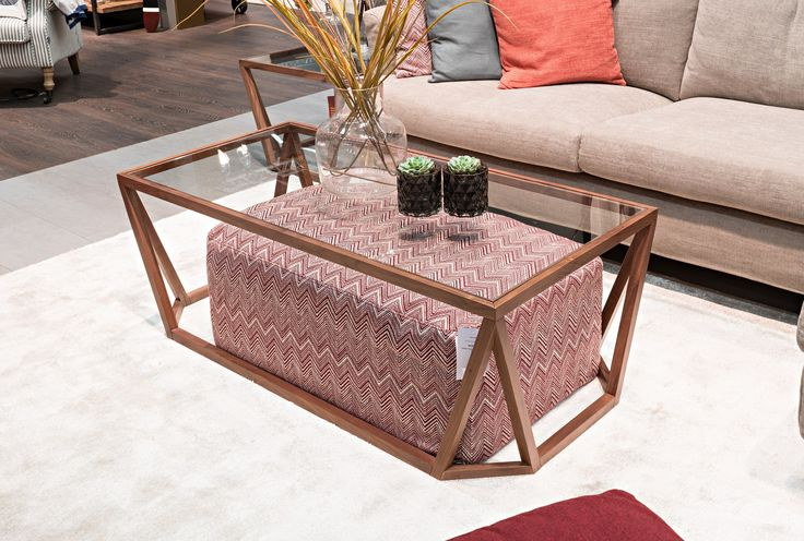 Bermuda Coffee Table with Footstool