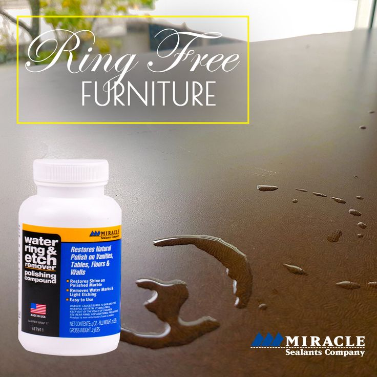 Pin By Miracle Sealants Company On Water Ring Etch Remover