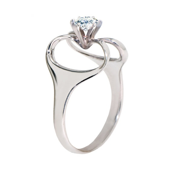 Best Isis too Egyptian Engagement Ring k white gold Ring by arosha