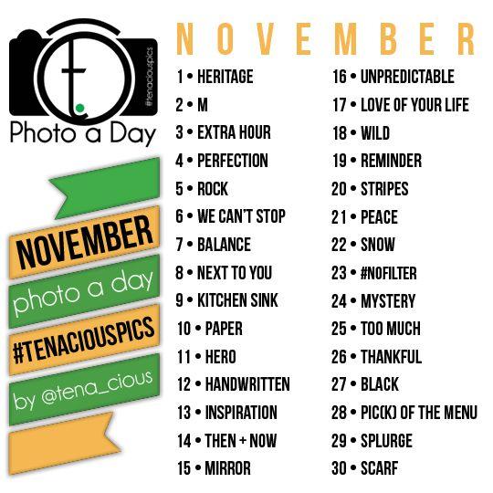 tena.cious Instagram Photo A Day Challenge | November 2013 » tena.cious