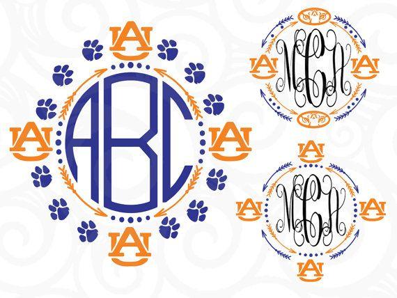 Auburn Tigers, Auburn Tigers dxf, Auburn svg, Auburn, monogram svg,Tigers…