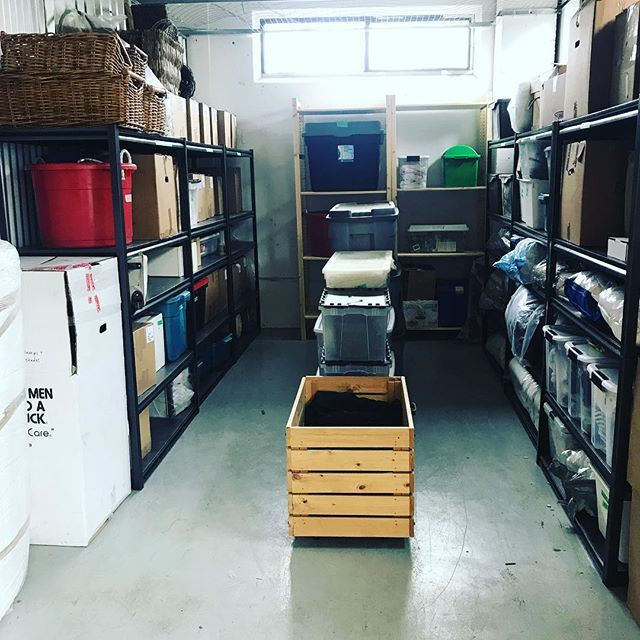 We Installed The Mastercraft Shelving And Transformed This Storage Unit Into A Thing Of Beauty Storage Torontoprofessionalo Storage Unit Storage Mastercraft